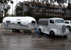 49 Curtis Wright, the name of the airstream and of the fine truck?