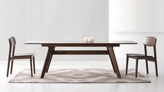 """Crafted in 100% solid bamboo, the planet's most eco-friendly and rapidly renewable resource; the Currant dining table extends from 72"""" to 92"""" to seat all of your guests comfortably. Available in black walnut and classic caramelized finishes."""
