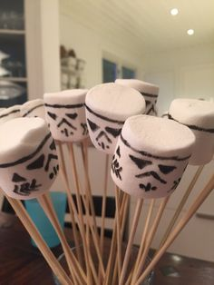 This was easy. Bought a pen for the purpose, and started mass-producing storm troopers...