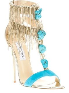 Jimmy Choo the perfect party shoes for both daytime or at night