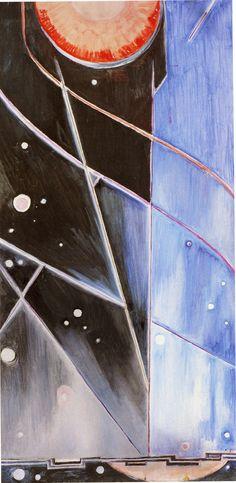 Natalia Goncharova. Space. 1958.