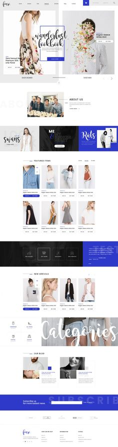 Fonre – Creative & Modern Online Shop