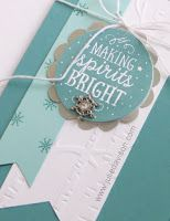 Julie's Stamping Spot -- Stampin' Up! Project Ideas by Julie Davison: Stampin' Up! Among the Branches Winter Christmas C...