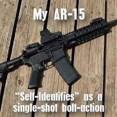 My Evil Roy self identifies as a semi-auto, but perhaps I am just that good.