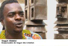 """Destination Francophonie au Bénin - Au Bénin, quel est le rôle de l'animateur dans le projet """"Caravane des dix mots"""" ? Segun Olabisi, Responsable de Segun Ola Création"""