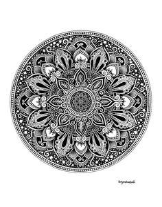 Mandala Doodle, Mandala Art Lesson, Mandala Artwork, Mandala Print, Mandala Drawing, Mandala Pattern, Pattern Art, Aztec Tattoo Designs, Mandala Tattoo Design