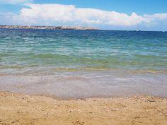 Siracusa (Sicilia) - L'isola di Ortigia vista dalla spiaggia di Punta del Pero - The island of Ortigia caught from the beach of Punta del Pero.