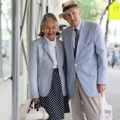 Advanced style - moda seniorów