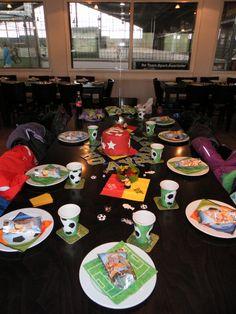 2015 - Thema Fußball - Tischdeko