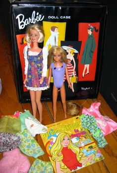 Barbie & Skipper I had the neatest case for them too filled with lots of clothes & shoes!