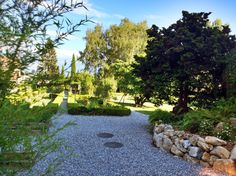 Garden of Igor's House in Morges (Switzerland)