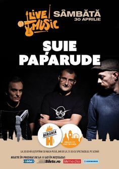Sambata, 30 Aprilie 2016, ora 21:30, Beraria H, Bucuresti Electronic Music, Concert, Movies, Movie Posters, Wine, Films, Film Poster, Popcorn Posters, Poster