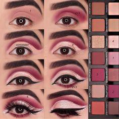 Anastasia Beverly Hills Moderne Renaissance-Palette # # shopping # shop # n … - Makeup Tutorial Lipstick Makeup Is Life, Makeup 101, Beauty Makeup Tips, Makeup Trends, Eye Makeup Steps, Blue Eye Makeup, Smokey Eye Makeup, Eyeshadow Makeup, Make Up Palette