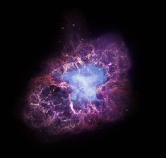A star's spectacular death in the constellation Taurus was observed on Earth as the supernova of 1054 A.D. Now, almost a thousand years later, a superdense neutron star left behind by the stellar death is spewing out a blizzard of extremely high-energy particles into the expanding debris field known as the Crab Nebula.