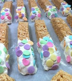 "Rice Krispies Treats ""Biscotti"" 