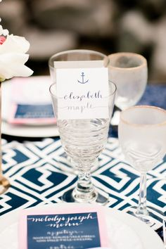 Nautical Styled Shoot with a healthy dose of chic Sailor Wedding, Nautical Wedding, Wedding Locations, Wedding Events, Weddings, Event Planning, Wedding Planning, Thank You Party, One Sweet Day