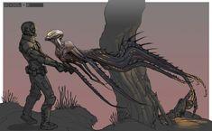 Evolve Creature Concept Art - General - Turtle Rock Forums