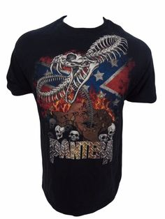 Pantera Concert T Shirt Size L Large Texas #Hanes #GraphicTee
