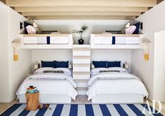 Los Cabos, Mexico....very cool bunk set-up!! Hospitality Design HOSPITALITY DESIGN | IN.PINTEREST.COM FASHION EDUCRATSWEB