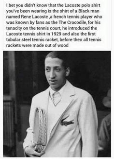 Hey! Did you know... #Rene Lacoste