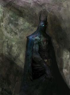 ArtStation - Batman in the Shadows, Anjin Anhut