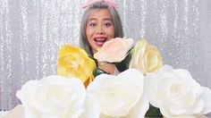 How to make paper ROSE by Madammouth  สอนทำกุหลาบกระดาษ