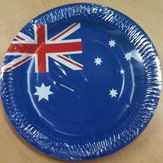 Australian Flag Party Plates
