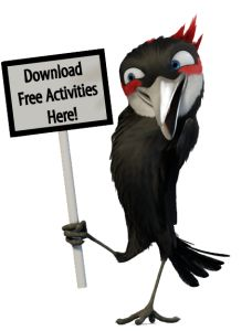 Feathered Friends Activities--free downloadable bird and bird feeder lesson plans and activities from Cornell Lab of Ornithology  PLUS: Citizen science lessons