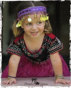 Paradise Gypsies — Gypsy dress up headdress for adults and kids www.paradisegypsies.bigcartel.com
