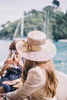 Gal Meets Glam Portofino - Preston & Olivia hat