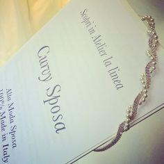 Da @sposestile la #collezione #sposa #curvy! #altamoda dalla taglia 48 in su.... WWW.sposestile.it