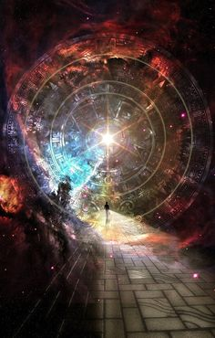 Fantasy Other Art, Pictures, Images Fantasy World, Fantasy Art, Fantasy Places, Space Fantasy, Art Visionnaire, Visionary Art, Fantasy Landscape, Sacred Geometry, Trippy
