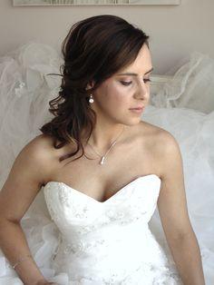 Beautiful and natural bridal hair & makeup
