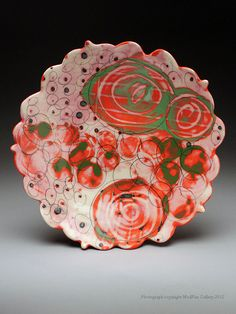 Angelique Tassistro Plate at MudFire Gallery