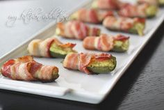 Bacon Wrapped Guacamole Poppers - Low Carb, quick and easy to make and oh so yummy!