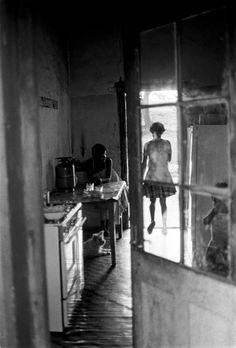 Mangete youth in the John Dunn house. 1982 © Cedric Nunn