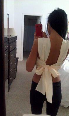 bow back