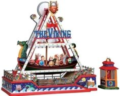 Lemax Village Collection The Viking Carnival Ride Sights And Sounds RARE & NEW in Collectibles, Holiday & Seasonal, Christmas: Current (1991-Now) | eBay