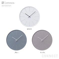 LEMNOS ( レムノス ) / dandelion ( ダンデライオン ) 掛け時計