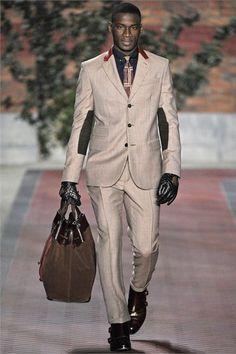 David Agbodji@ Tommy Hilfiger Mens menswear Fall Winter 2012-13 collection