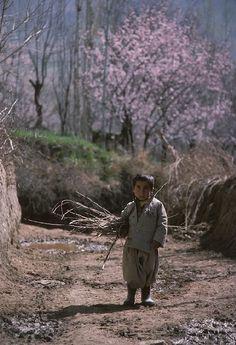 Little Boy from the Province Kurdistan, Iran, 1970s. Photo by Michel Setboun