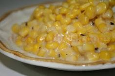 Southern Style Creamed Corn - fresh corn is stewed down in bacon drippings and cream, a great side dish anytime.