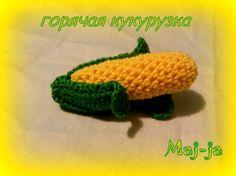 Вязаная кукуруза - Ярмарка Мастеров - ручная работа, handmade
