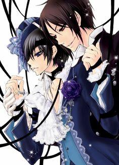 Black Butler- Ciel x Sebastian