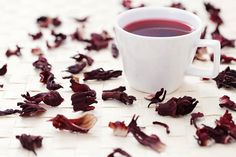 Hibiscus Tea is excellent for boosting the immune system and fighting off infections. .