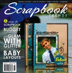 This is one of the nicest scrapbooking magazines I've seen! It has lots of ideas for great layouts. – Shirley