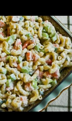 Macroni Salad with Shrimps