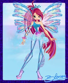 winx club best fairy friends | Bloom Sirenix by =ColorfullWinx on deviantART