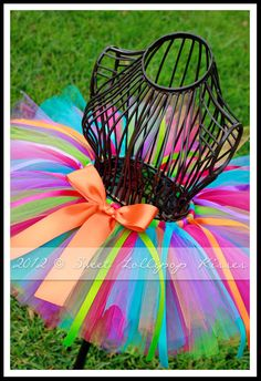 Rooty Tooty Tutu Skirt  READY TO SHIP: Size by sweetlollipopkisses