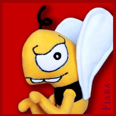 """Grumpy Bee"" – Draw Your Cuddle | Fiaba"